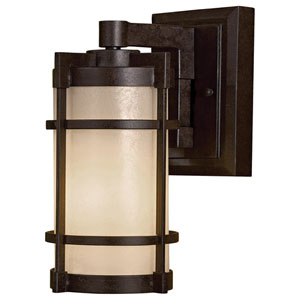 Mirador Exterior Small Fluorescent Outdoor Wall Light