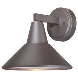 Baycrest Dorian Bronze One-Light Outdoor Wall Mount