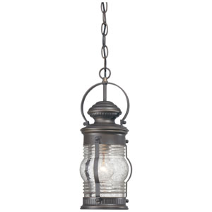 Lynnfield One-Light Outdoor Chain Hung in Oil Rubbed Bronze