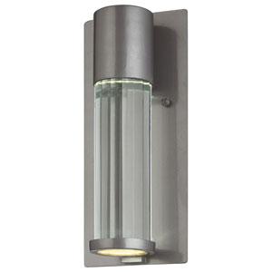 Soare Tinted Silver Dark Sky/ADA Wall Lantern