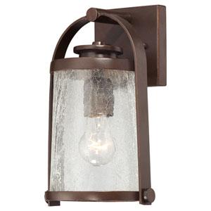 Travessa Architectural Bronze Wall Lantern w/Copper Highlights