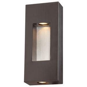 Geox Dorian Bronze Two-Light Wall Lantern