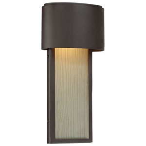 Everton Dorian Bronze Two-Light LED Outdoor Wall Sconce