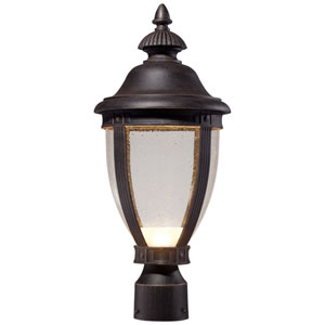 Wynterfield Rust 19.25-Inch LED One Light Outdoor Post Mount