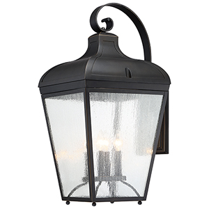 Marque Oil Rubbed Bronze Two-Light Outdoor Wall Lantern