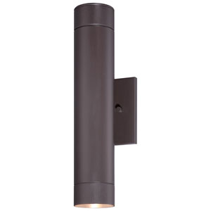 Skyline Dorian Bronze Two-Light Outdoor LED Wall Mount