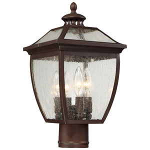 Sunnybrook Alder Bronze Four-Light Outdoor Post Mount