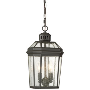 Hawks Point Oil Rubbed Bronze Two-Light Outdoor Pendant