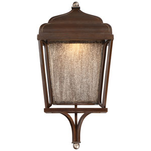 Astrapia Dark Rubbed Sienna LED One-Light Outdoor Wall Sconce