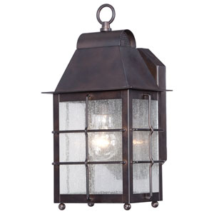 Willow Pointe Chelesa Bronze One-Light Outdoor Wall Mount