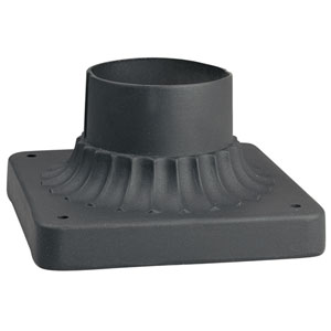 Black Pier Mount Bracket