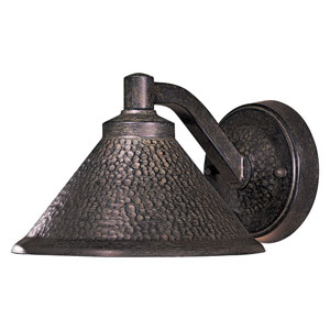 Kirkham Aspen Bronze One-Light Dark Sky Outdoor Wall Mount
