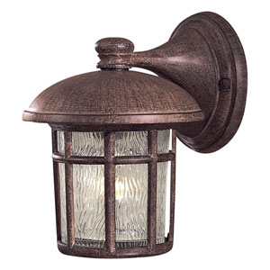 Cranston Vintage Rust One-Light Outdoor Wall Mount