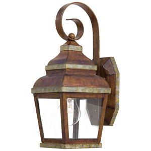 Mossoro Mossoro Walnut One-Light Outdoor Wall Mount