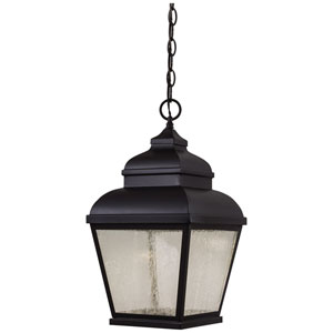 Mossoro Black 19-Inch High LED Outdoor Pendant