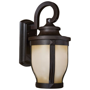 Merrimack Fluorescent Large Outdoor Wall Mount
