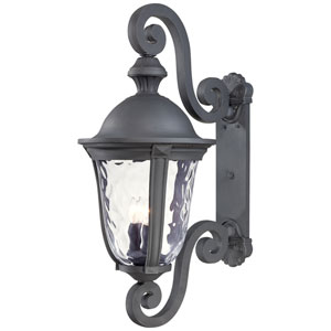 Ardmore Black Three-Light Wall Lantern