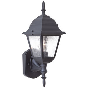 Bay Hill Black One-Light Outdoor Bottom Mount Wall Mount
