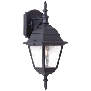 Bay Hill Black One-Light Outdoor Top Mount Wall Mount
