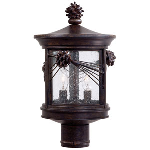 Abbey Lane Outdoor Post-Mounted Lantern