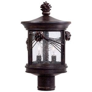 Abbey Lane Outdoor Post-Mounted Lantern