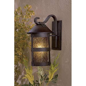 Lander Heights Fluorescent Medium Exterior Wall Mount