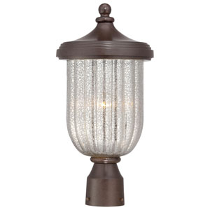 Solara Hills Architectural Bronze Post Mount Lantern