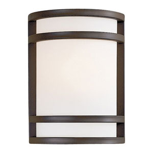 Bay View Bronze Small Outdoor Wall Mount