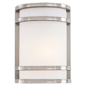 Bay View Fluorescent Outdoor Flush Wall Mount