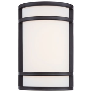 Bay View Oil Rubbed Bronze 7.5-Inch Wide LED Outdoor Wall Mount