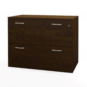 Pro-Biz Chocolate Lateral File Cabinet