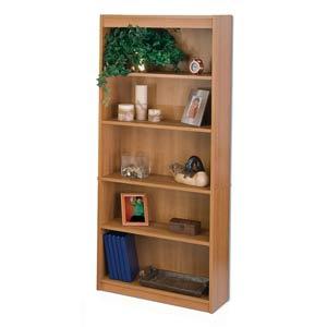 Cappuccino Cherry Bookcase
