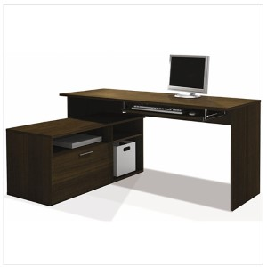 Modula Tuxedo L-Shaped Workstation