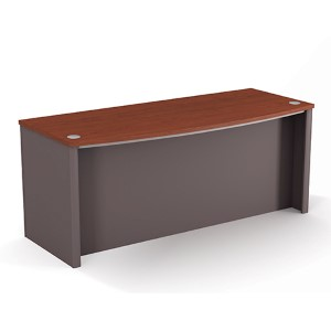Connexion Bordeaux and Slate Executive Desk
