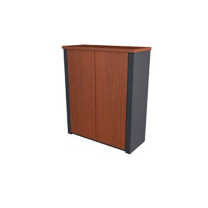 Prestige Plus Bordeaux and Graphite 30-Inch Cabinet