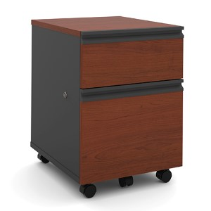 Prestige Plus Bordeaux and Graphite Mobile Pedestal