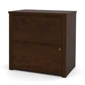 Prestige Plus Chocolate 30-Inch Wide Lateral File Cabinet