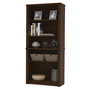Prestige Plus Chocolate Modular Bookcase