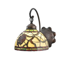 8-Inch Pinecone One-Light Wall Sconce