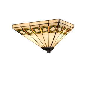 14.5-Inch Diamond Mission Wall Sconce