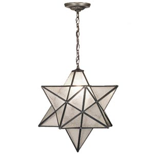 24-Inch Moravian Star Pendant