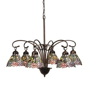 30-Inch Wisteria 6-Light Chandelier