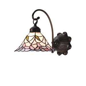8.5-Inch Daffodil Bell One-Light Wall Sconce