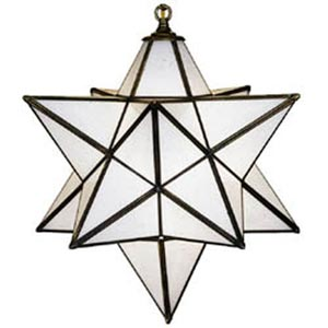 Moravian Tiffany Star-Large
