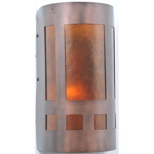 5-Inch Mica Mission Wall Sconce