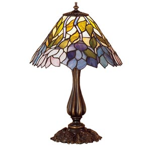 21-Inch Wisteria Accent Lamp