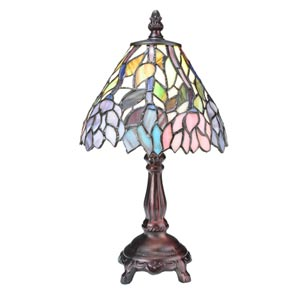 13.5-Inch Wisteria Mini Lamp