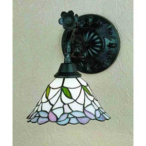 9-Inch Daffodil Bell One-Light Wall Sconce