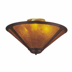 Mica Ceiling Light
