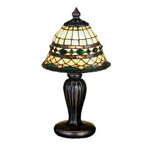 13-Inch Tiffany Roman Mini Lamp